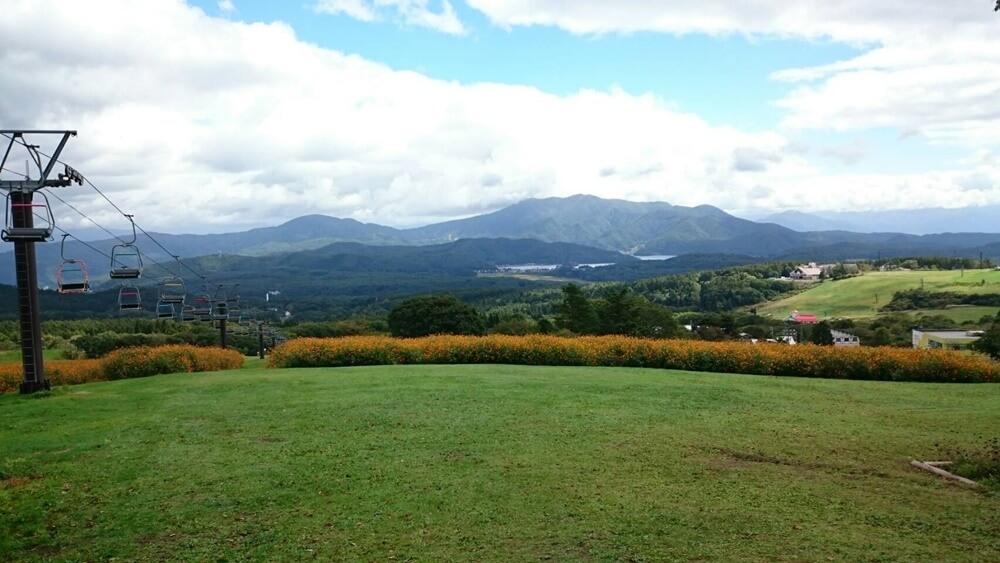 黒姫高原の景色