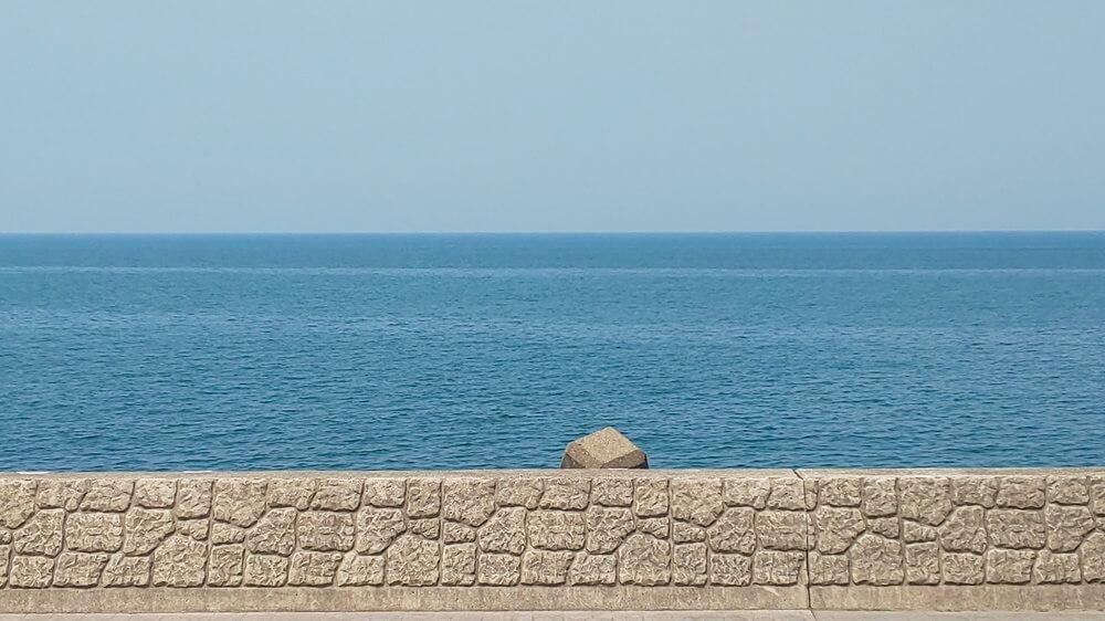 うみてらす名立からみた海