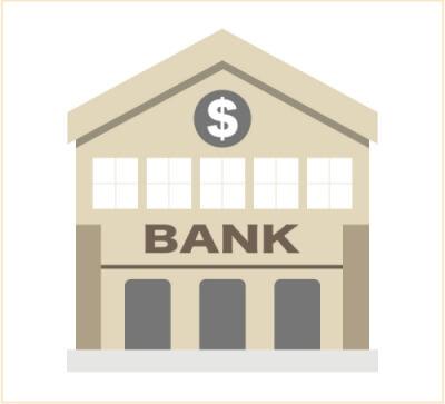 当座預金は資産の勘定科目で決算時にマイナス残高になっている場合は負債科目と振替える